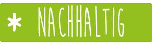 Nachhaltig - Mein Lieblingsglas von Das Obstkistl