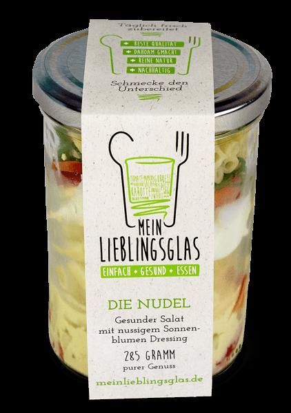 Die Nudel: Der gesunde Nudelsalat mit nussigem Sonneblumenöl-Dressing von Mein Lieblingsglas