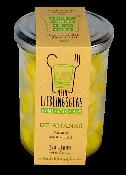 Die Ananas - Mein Lieblingsglas von Das Obstkistl