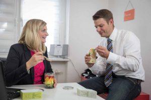 Der schnelle Genuß auch im Büro: Mein Lieblingsglas von Das Obstkistl