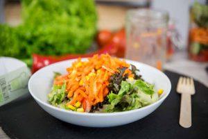 Zubereitung: Mein Lieblingsglas - Der frische, hausgemachte Salat im Glas von Das Obstkistl
