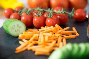 Frische Zutaten für Mein Lieblingsglas - Der frische und hausgemachte Salat im Glas von Das Obstkistl