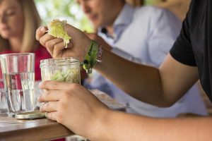 DerMarokkaner - Mein Lieblingsglas - Der frische und hausgemachte Salat im Glas von Das Obstkistl
