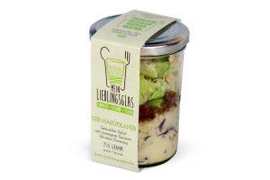 Der Marokkaner - Mein Lieblingsglas - Der frische und hausgemachte Salat im Glas von Das Obstkistl