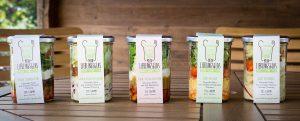 Verschiedene Variationen von Mein Lieblingsglas - Der frische, hausgemachte Salat im Glas von Das Obstkistl