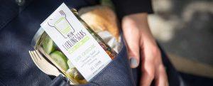 Zum Mitnehmen: Mein Lieblingsglas - Der frische, hausgemachte Salat im Glas von Das Obstkistl